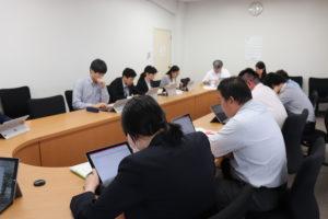 5教科担当者連絡会(1・2年生)