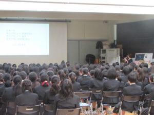 1年ユニフォレ講演会
