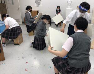 2年生 専攻美術Ⅱ開始!
