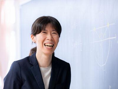 龍野先生(数学科・情報科)